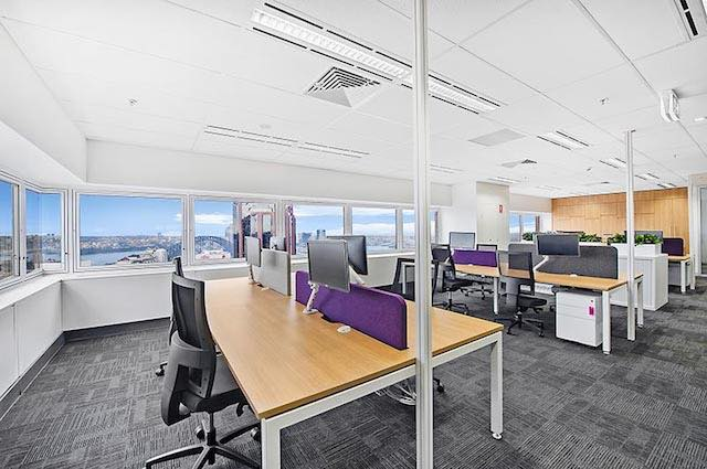 JLL office fit out furniture 6