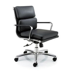 Meeting Chairs Soft Black Angle View