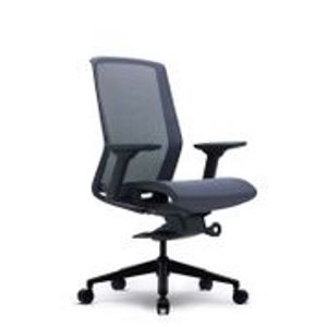 Office Chairs Bestuhl J15 Black Front Angle View