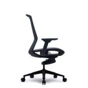 Office Chairs Bestuhl J15 Black Side View