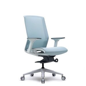 Office Chairs Bestuhl J15 White Front Angle