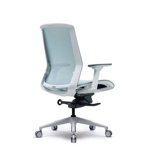 Office Chairs Bestuhl J15 White Rear Angle View