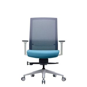 Office Chairs Bestuhl S27 White Front View