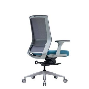 Office Chairs Bestuhl S27 White Rear Angle View