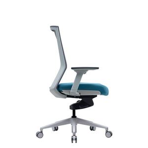 Office Chairs Bestuhl S27 White Side View