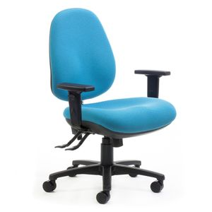 Office Chairs Delta Plus High Back with Arms