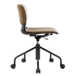 Office Chairs Fursys Button with Padded Covers Side View