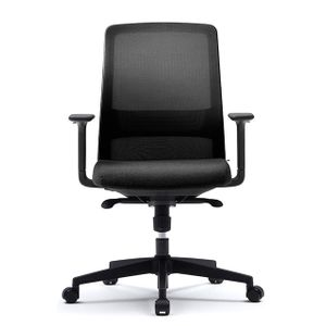 Office Chairs Fursys T40 with Arms Front View