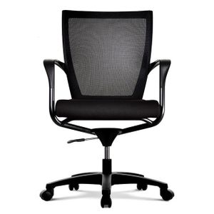 Office Chairs Fursys T503 Black Front View