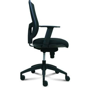 Office Chairs Ikonic with Arms Side View
