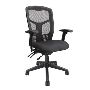 Office Chairs Tran High Back Black Base