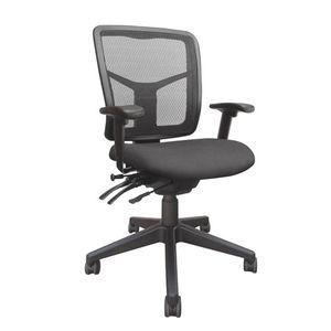 Office Chairs Tran Medium Back Black Base
