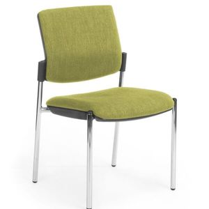 Office Chairs Venice Linea Chrome Four Leg