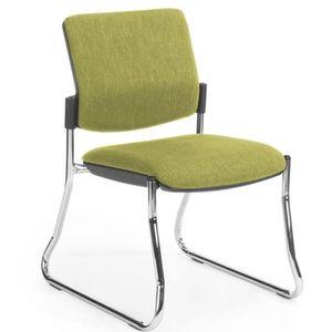 Office Chairs Venice Linea Chrome Sled