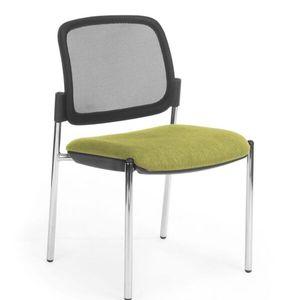 Office Chairs Venice Mesh Back Chrome Four Leg