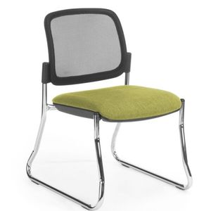 Office Chairs Venice Mesh Back Chrome Sled