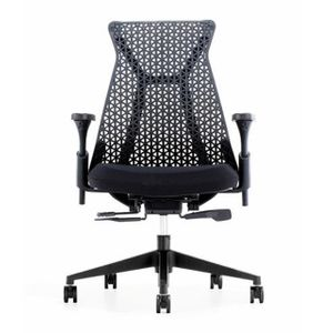 Office Chairs Xagon Black Front View