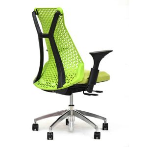 Office Chairs Xagon Black and Green Angle View