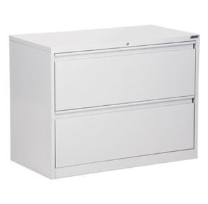 Office Filing Cabinet 2 Drawer Lateral File