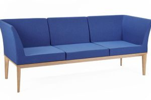 Office Lounge Zelig Three Seater with Arms