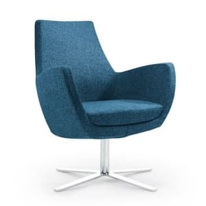 Office Seats Paris Chair with Chrome Legs