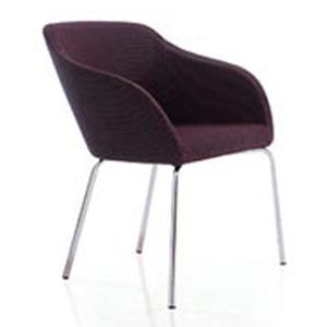 Office Seats Tulip Chrome Four Leg Base