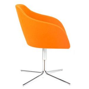 Office Seats Tulip with Star Base Side View