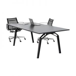 Office Furniture Meeting table Fluid Black