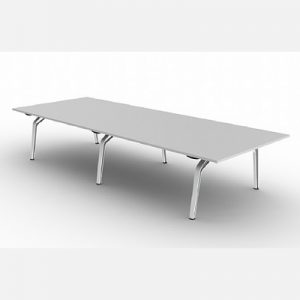 Office Furniture Meeting table Fluid White