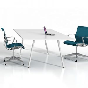 Office Furniture Meeting table Gen X White