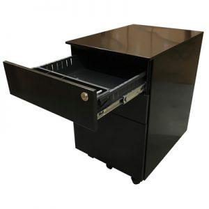 Office Storage EP Pedestal Black
