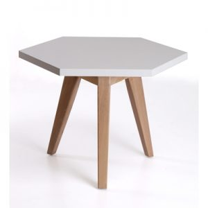 Office Furniture coffee table Honeycomb White