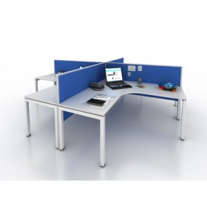 Office Workstations Cubicles Gen Y L Shape Pod