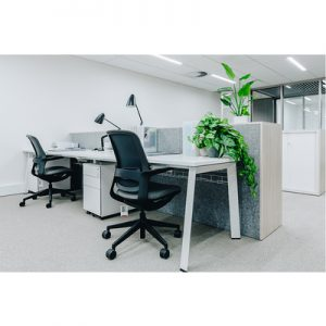Office Workstations Delta Fixed Height 2 Person
