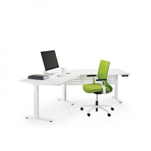 Office Workstations Elevation 120 Degree