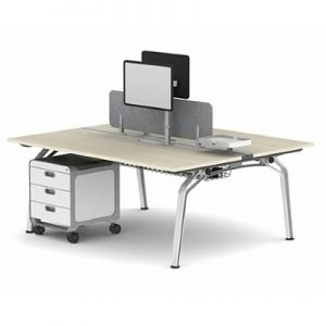 Office Workstations Fluid 2 Person