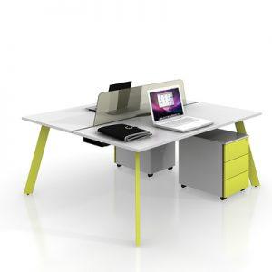 Office Workstations Gen X 2 Person