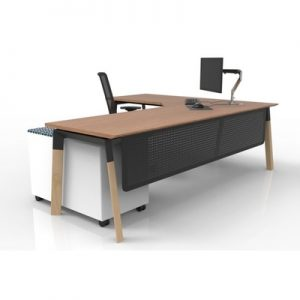 Office Workstations Sydney Delta Timber A L Shape